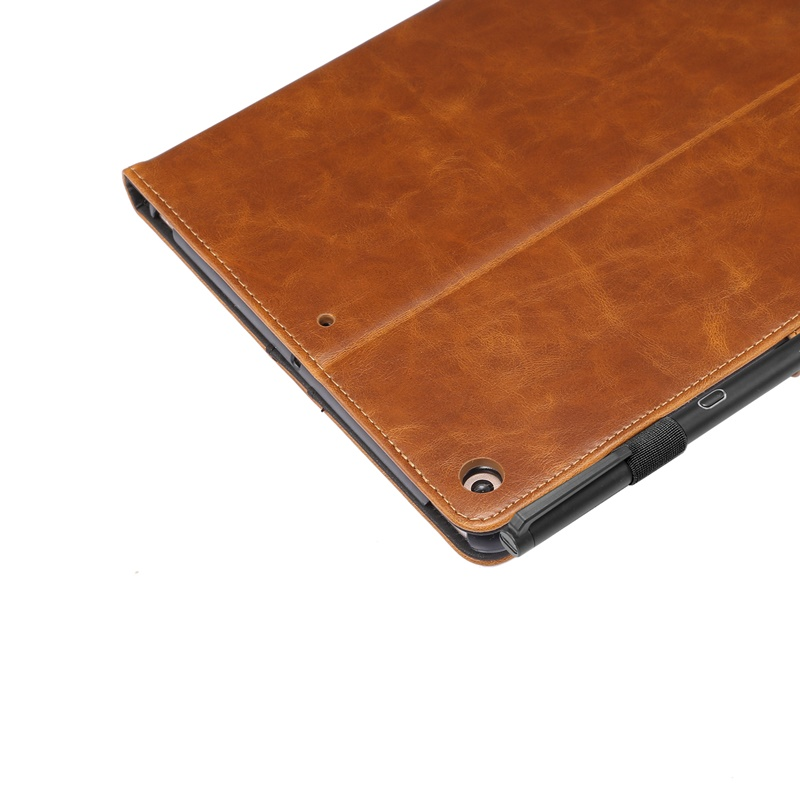 Stand 10.2 Tablet inch leather Cover Case Smart wallet iPad For 2020 flip slot Card case
