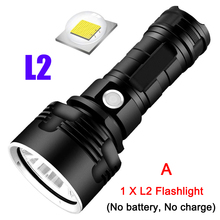 LED Powerful Flashlight Rechargeable Super Bright Long-range High-power Outdoor Home Searchlight YAN88