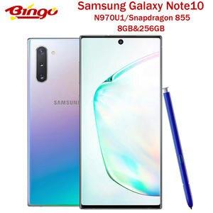 Samsung Snapdragon 855 Galaxy Note10 N970U 256GB 8GB LTE/WCDMA/CDMA/GSM NFC Adaptive Fast Charge
