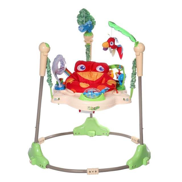 Multi-function Children Baby Bouncer Walker 6-24M Baby Gym Rack Cradle Baby Swing Rocking Chair for Newborm Baby Activity Gear 3