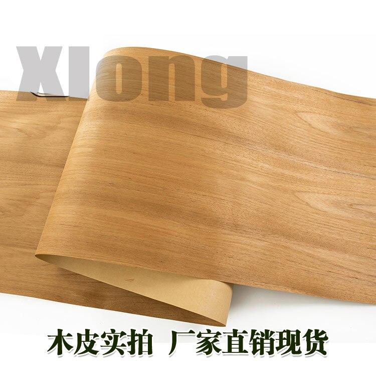 L:2.5Meters Width:600mm Thickness:0.25mm Ultra Wide Teak Pattern Natural Wood Veneer Furniture Veneer Veneer Teak Non Teak Width