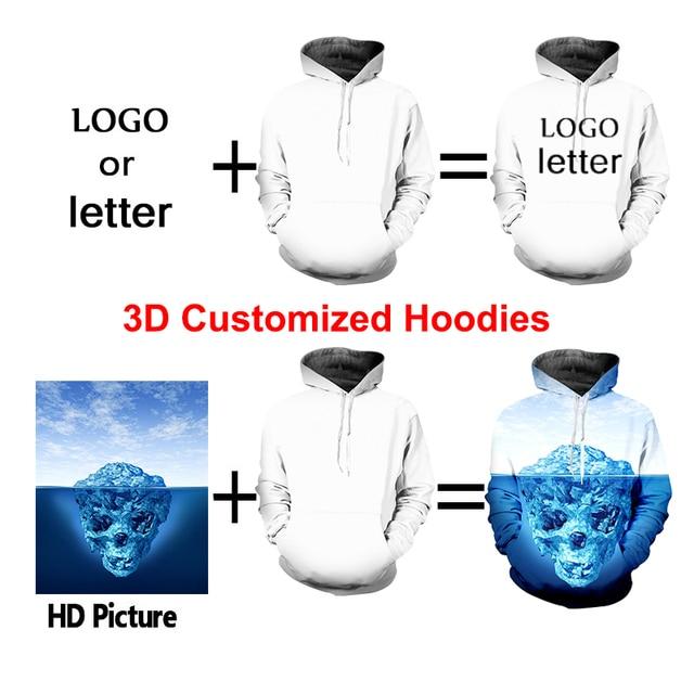 Купить ipfd eu/us размер 3d толстовки цветные с вышивкой мужские капюшоном картинки цена
