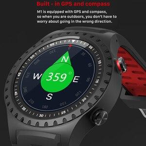"""Image 2 - SCOMAS GPS ساعة ذكية 1.3 """"جولة عرض دعم بلوتوث مكالمة هاتفية GPS البوصلة مراقب معدل ضربات القلب في الهواء الطلق الرياضة Smartwatch"""
