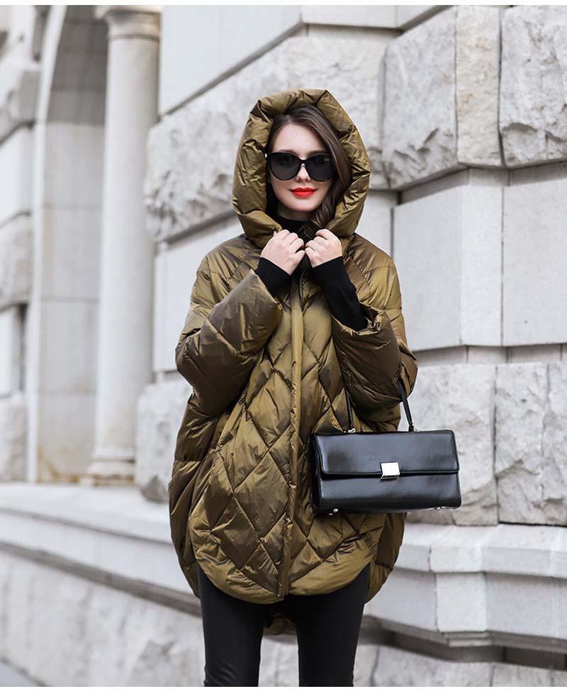 casaco verde preto solto moda outono ynzzu yo953
