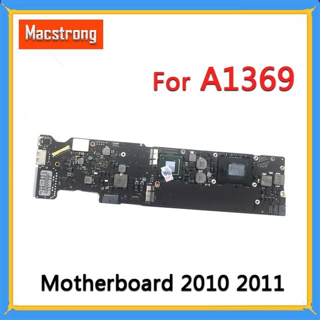 "Getest Orignal A1369 Moederbord 2.13GHz Core 2 Duo 1.7 GHz/1.8 GHz 4GB Logic Board voor MacBook air 13 ""2010 2011 820 3023 A"