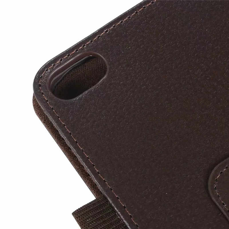 Slim Litchi Flip Stand PU Leather Skin Bag Coque Cover Shell Funda Capa Case for Lenovo Tab E8 TB-8304F TB-8304F1 8 Inch Tablet