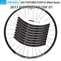 NOTUBES FLOW S1 Wheel stickers cycling wheel rim decoyative stickers bicycle decals bike wheel set stickers