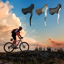 Lightweight Aluminum Bicycle Brake Handle MTB Mountain Bike Front And Rear Levers Drop Handlebar