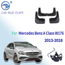 Flaps For Mercedes Benz A Class W176 A Class Mudflaps Splash Guards Mudguards 2013 2014 2015 2016 2017 2018 A260