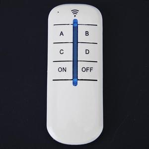 Image 2 - 4 Relais 220V Draadloze Afstandsbediening Schakelaar On/Off 220V Lamp Light Digital Wireless Muur Remote Switch ontvanger Zender Voor