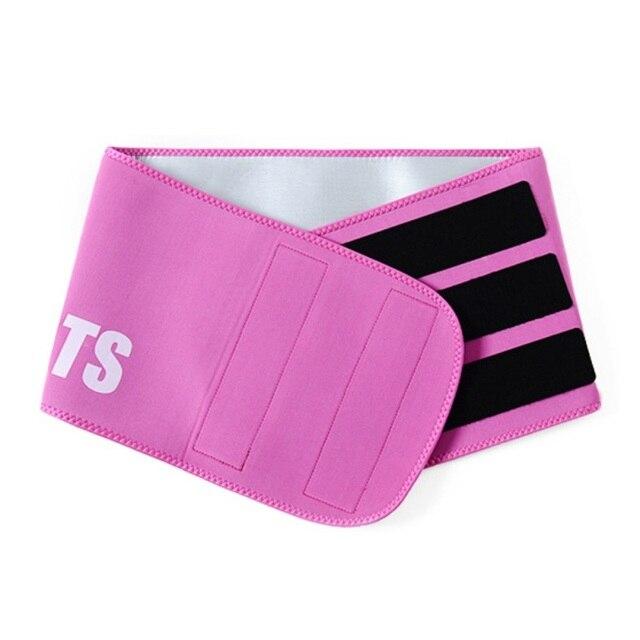 Women-Waist Cincher Trimmer-Sweat Crazier Slimming Body Shaper Belt-Sport Girdle Silver Ion Belt For Weight Loss 2