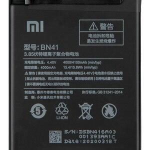 Image 4 - แบตเตอรี่เดิมBN41 BN43 BM47สำหรับXiaomi Redmiหมายเหตุ4 Hongmi Note4 Pro Note4X MTK Helio X20 Redmi 3 3S Mi5X Mi Note2 BN31 BN45