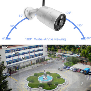 Image 3 - Hd 1080P 5MP Bullet Ip Camera Wifi Draadloze Beveiliging Cctv Camera Fisheye Lens 180 Graden View Ir 20M outdoor P2P App Camhi