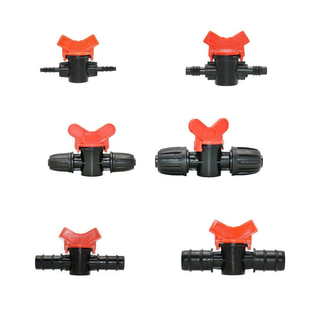 Irrigação por gotejamento 4mm/8mm/10mm/12mm/14mm/16mm/19mm mangueira jardim torneira válvula de irrigação uso mangueira de água tubo pe