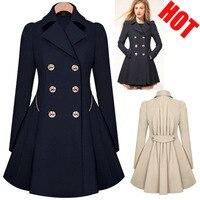 BZBFSKY взрывоопасная ветровка для путешествий тонкая для похудения двубортное пальто ветровка Женская длинная куртка зимняя женская