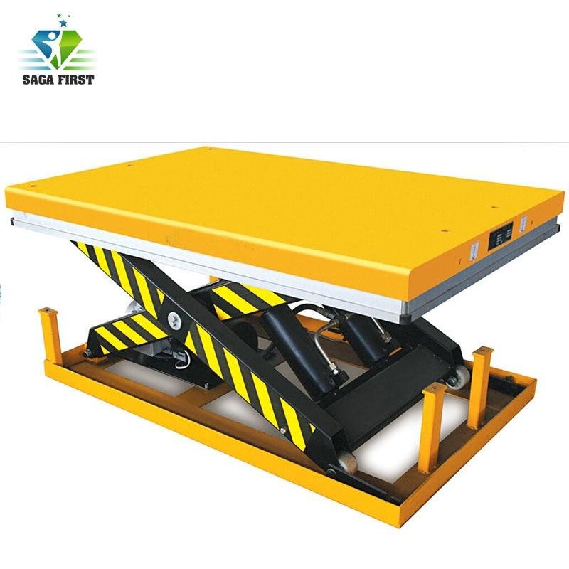 Cheap High Quality Electric Platform Lifting Single Scissor Lift Table