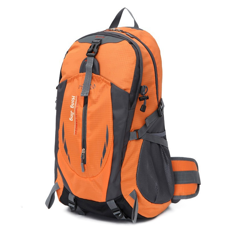 Cross Border New Style Casual Travel Backpack Large Capacity Travel Mountaineering Bag Men And Women Waterproof Outdoor Hiking B