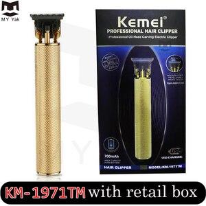 Image 5 - Balding Clipper Kemel 0 mm Male Trimmer Kamei Bald Head Shaving Kmei Scraper Kemei Short Hairs Cutting Kemey Finishing Detailing