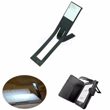 Lamp Reader Book-Light Kindle Led-Clip Folding Flexible 1PC Black on for Beside New