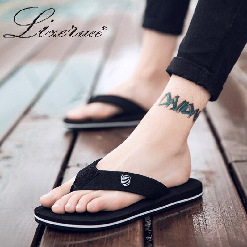 2019 nueva llegada verano hombres chanclas sandalias de playa de alta calidad antideslizantes Zapatos Hombre Casual Zapatos al por mayor A10
