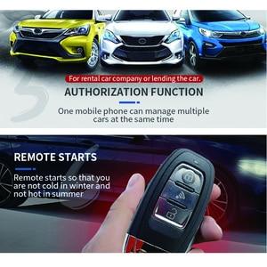 Image 3 - Cardot 2G Passieve Keyless Entry Systeem Smart Auto alarmen Drukknop Start Stop Mobiele App Smart Pke Auto alarmsysteem