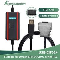 Geeignet Omron PLC Programmierung Kabel USB-CIF02 + Download Kabel CPM1A/2A/CQM1/C200HS PLC Daten Linie