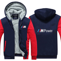 Men Hoodies Winter Thicken Male For Bmw Sweatshirts For Men Winter Hoodies Zipper Coat T 1