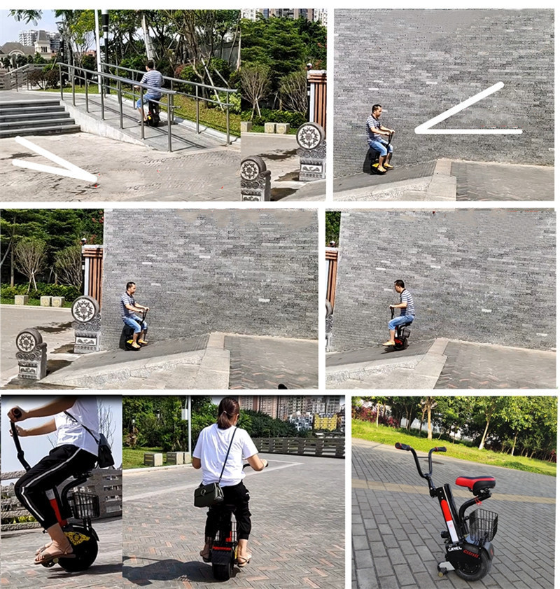 Daibot New Electric Unicycle Scooter 60V Self Balancing Scooters Range 30KM45KM Powerful Electric Scooter For AdultsWomen (22)