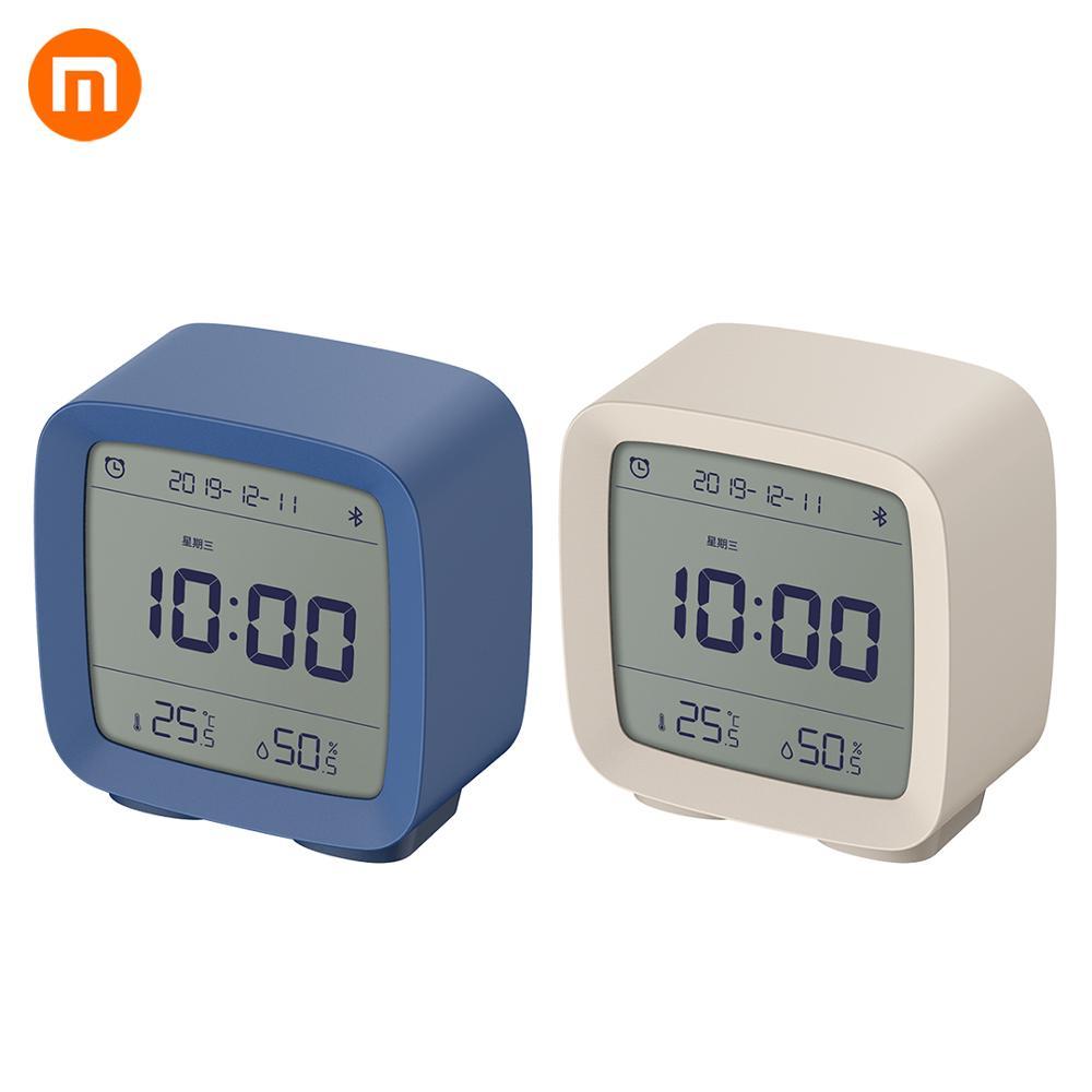 Xiaomi Mijia ClearGrass Bluetooth Digital Thermometer Temperature  And Humidity Monitoring Alarm Clock Xiaomi Night Light 3 In 1Smart  Remote Control