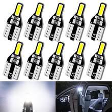 10x T10 W5W 194 Led Bulb Car Interior Reading Light For SEAT Leon 1 2 3 MK3 FR Cordoba Ibiza Altea Toledo Arosa Alhambra Exeo