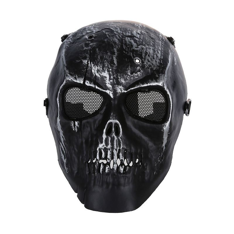 Skull Skeleton Airsoft Paintball Full Face Protect Mask|Cycling Face Mask| |  - title=
