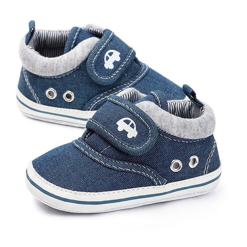 2019 Fashion Baby Shoes Boy Girl Shoes Newborn Cotton First Walkers Cute Canvas Shoe Alpargatas