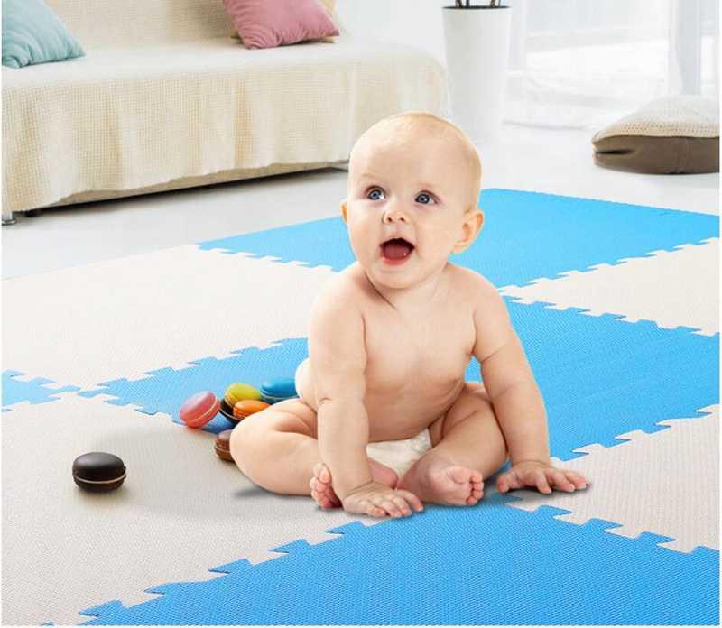 A buon mercato Bambino Che Gioca Zerbino Schiuma Di Puzzle Per I Bambini I Bambini Giocano Zerbino crawling Play Zerbino Giocattolo Per Bambini Interlock Gioco Pavimento 30cm