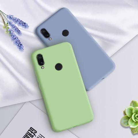 Luxury Soft Silicone Case For Xiaomi Redmi Note 7 Pro 6A 6 Pro Silicon Shockproof Back Covers Xiao mi Redmi Note7 Pro Cases 6Pro Multan