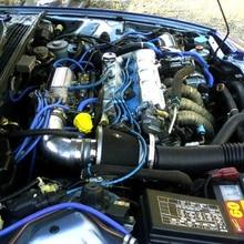 Universal Generic 5m/16.4 Ft Car Silicone Fuel Air Vacuum Hose Line Tubes Blue