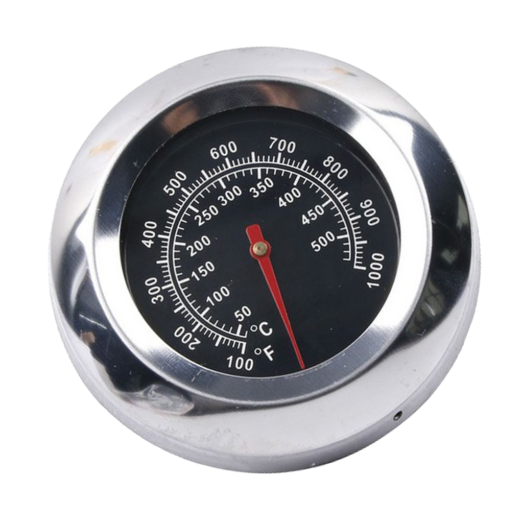 BBQ Barbecue Smoker Grill <font><b>Thermometer</b></font> Temperature Gauge (100 to <font><b>1000</b></font> <font><b>degrees</b></font> Fahrenheit) image