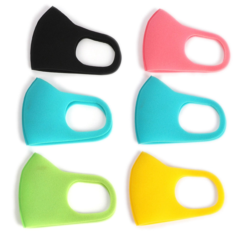 3PCS/Lot Kids Mask Anti Haze Cotton Mask Breathable Reusable Anti-dust Mouth Mask Healthcare Kits For 3-10 Year Old