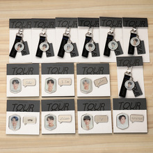 Bangtan7 MOTS Keychain or Brooch (14 Models)
