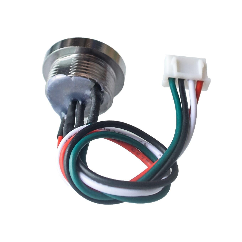 10pcs//lot TM Probe DS9092 Zinc Alloy Probe iButton Probe//Reader with LED