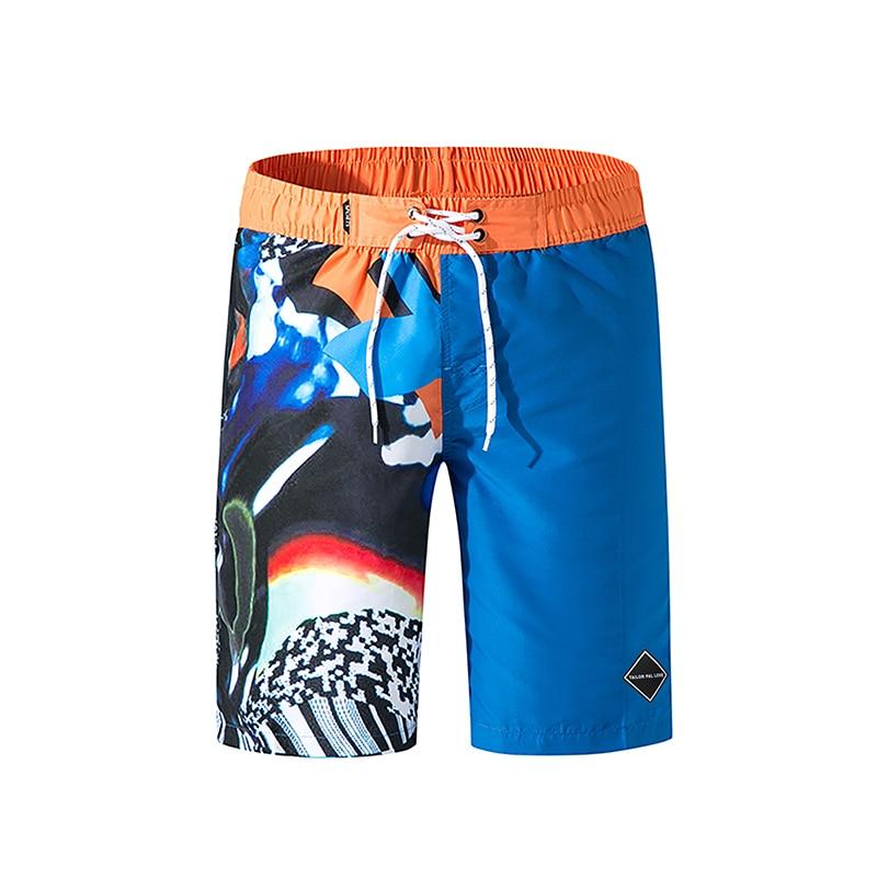 Fina de Secagem Impressão Rápida Shorts Masculinos Verão Tamanho Grande M-3xl Praia Calças Casuais Sweatpants Corredores Streetwear
