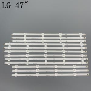 Image 2 - (New Original Kit) 12 PCS LED backlight strip for LG TV 47LA620S 6916L 1259A 6916L 1260A 6916L 1261A 6916L 1262A LC470DUE