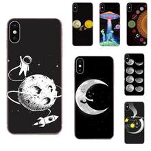 Tpu Accessoires Case Cartoon Maan Sterren Voor Samsung Galaxy Note 8 9 10 Pro S4 S5 S6 S7 S8 S9 s10 S11 S11E S20 Rand Plus Ultra(China)