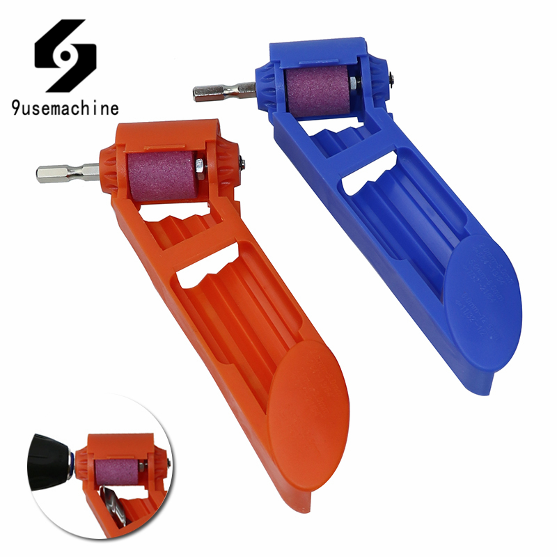 Portable Drill Bit Sharpener 2-12.5mm Grinding Wheel Corundum For Drill Polishing Sharpening Grinder Power Tool Accessories