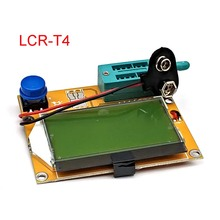 High Quality Brand New LCR T4 ESR Meter Transistor Tester Diode Triode Capacitance SCR Inductance