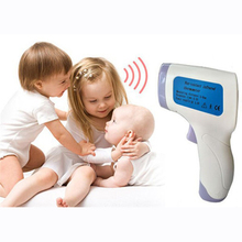 1PCS Infrared Forehead Hand Thermometer Noncontact Thermometer Infrared LCD Monitor Temperature Detection Tool Support wholesale