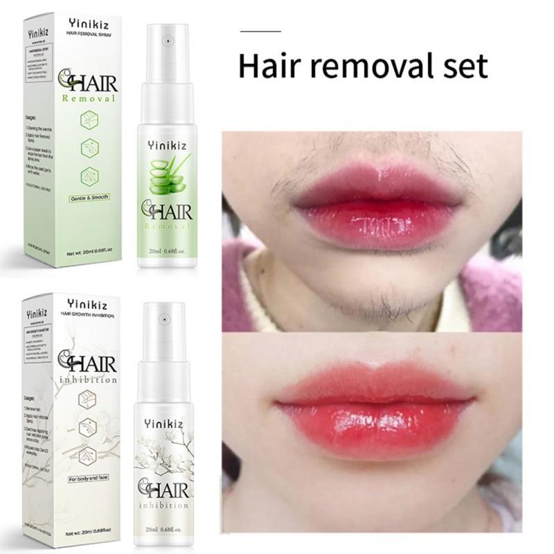 Hair Growth Inhibition Spray Facial Permanent Hair Removal Cream