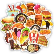 50 шт вкусные наклейки для фаст фуда игрушки детей гамбургер