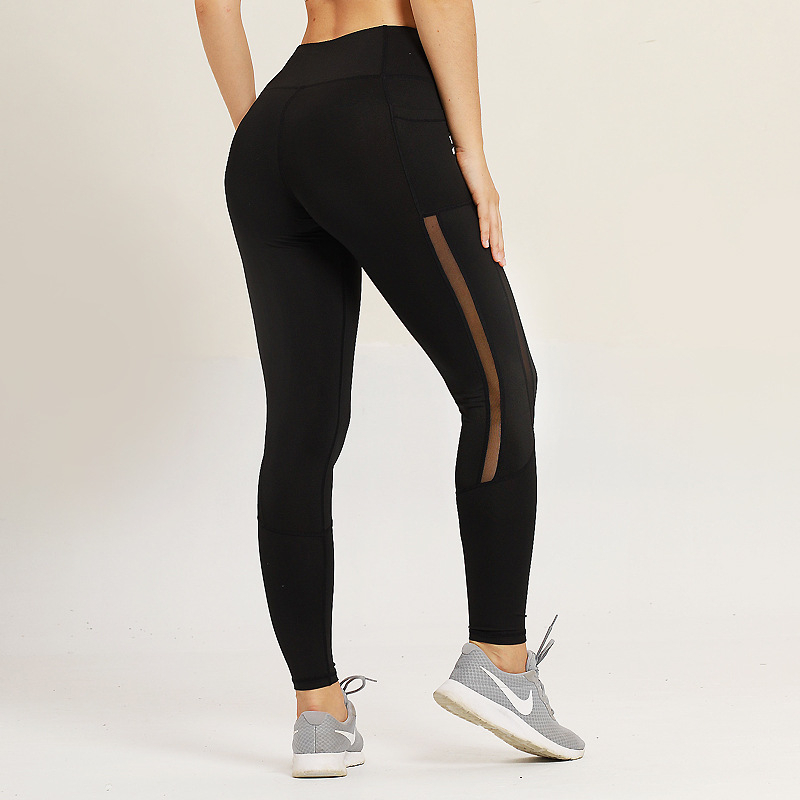 Yoga Pants With Pockets Gym Leggings Sport Women Fitness Yoga Leggings High Waist Sport Pants Workout Sports Wear For Women Gym in Yoga Pants from Sports Entertainment