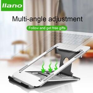 Image 2 - M2/Z2/H2 Silber Aluminium Laptop Stand Tablet Universal für Apple MacBook Air Pro 11 15 zoll folding Einstellbare Büro Notebook