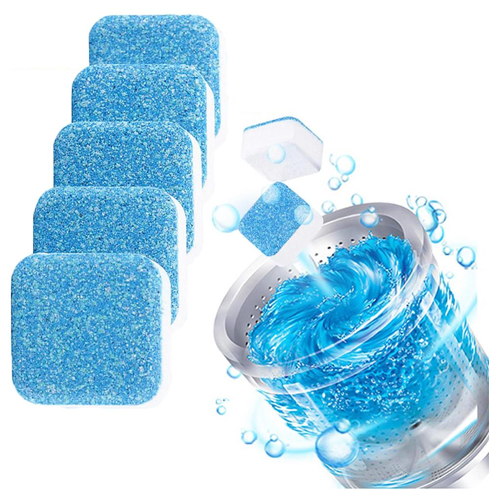 1 Pc Washing Machine Cleaner Lavadora Asher Detergent Effervescent Cleaning Pad Cleaning Detergent Effervescent Tablet